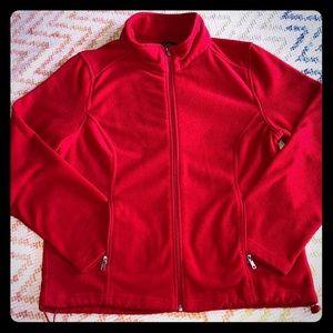 Jackets & Blazers - Fuzzy fleece jacket